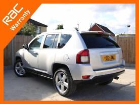 2012 Jeep Compass 2.0 Limited Ltd 5 Speed Bluetooth Full Leather Heated Seats De