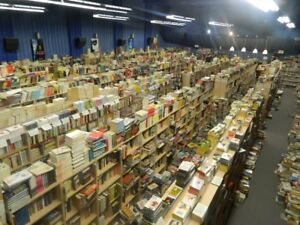 *** BOOK STORE CLOSING OUT OVER 300.000 BOOKS ***