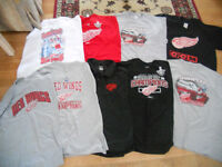 DETROIT RED WING HOCKEY T-SHIRTS