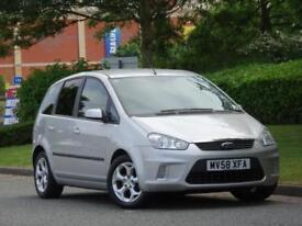 Ford C MAX 1.8 16v 125 2009 Zetec +1 LADY OWNER +6 FORD SERVICE STAMPS +WARRANTY
