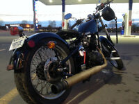 """Bobber Cleveland Cycle works """"Heist"""""""