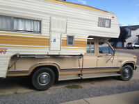 Ford Truck and Camper - Well Maintained