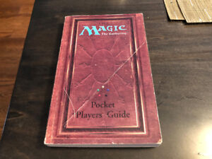 Magic the Gathering Pocket Players' Guide 1994