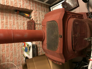 SOLD ****Vermont Castings Wood Stove