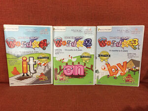 Meet The Sight Words learning to read DVDs