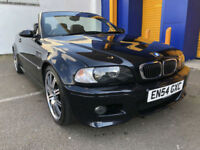 2005 BMW M3 3.2 Sequential M3 Fully Loaded 42,000 Miles 2 Owners convertible