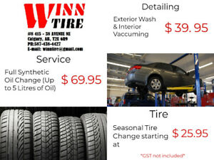 Spring Service Promo! Lowest in Calgary and Best in Quality!