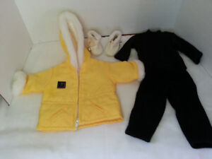 american girl pleasant company snow outfit