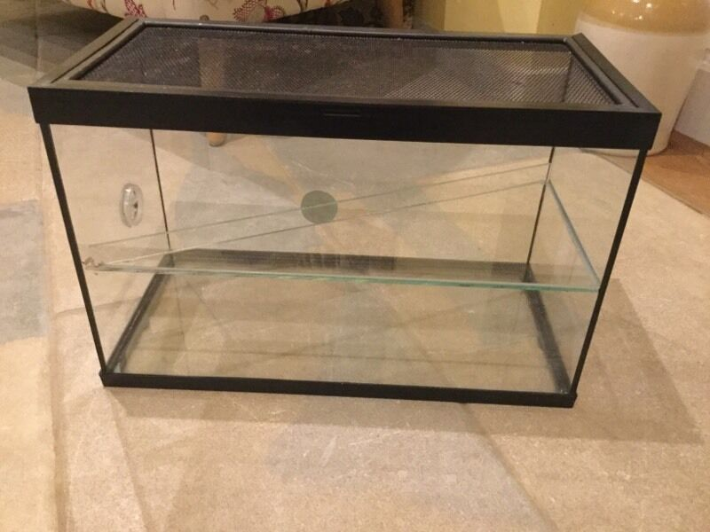 Perfecto Glass Hamster Cage With Shelf In Melksham