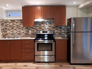 Bright and Sun-filled 2 bedroom Walkout basement Apartment