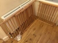 4 Wooden Mothercare Child Safety Gates Great Condition