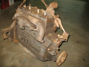 Antique Plymouth Engine