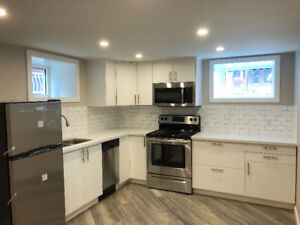 New 1 bedroom unit for rent in amazing location, utilities incl.