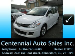2009 Nissan Versa SL, 6 spd manual,123~km, Local BC,NO accidents