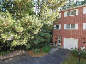 PRIVATE & SPACIOUS END UNIT W GROUND LEVEL WALKOUT! 3 BED+2 BATH
