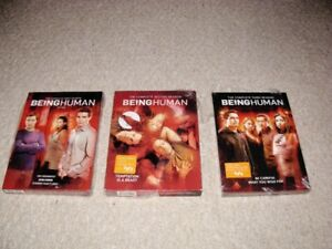 BEING HUMAN/WOLF BLOOD TV SERIES SETS FOR SALE!