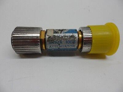 Hp Attenuator Coaxial 8492a 10db C