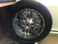 Ruffino TRAXX Wheels and Cooper Discoverer Tires
