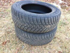 Pair of P205-60-R16 Winter Tires
