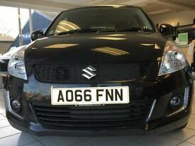 Suzuki Swift SZ2 1.2 Petrol Manual 5 Door Black 2016