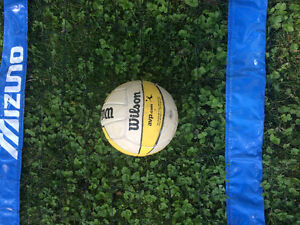 Volleyball & mizuno volleyball net for sale