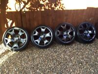 "BMW 19"" Tiger Claw Alloy Wheels Alloys freshly Powder coated"