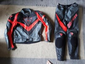 Dainese and Shoei 2 peice Suit & Trousers