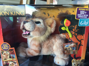 Lion King Plush Interactive SIMBA toy; NEW still in box