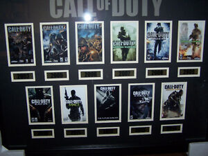 Framed Call of Duty Collectors picture