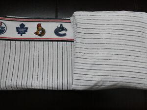 Drap de cotton  pour lit simple