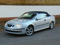 Saab 9-3 1.8t Cerulean Vector Convertible, 06/55 Reg, 91k Miles with History.