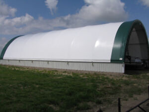 30x65 Pre-Engineered Fabric Building - Call 204-541-0300