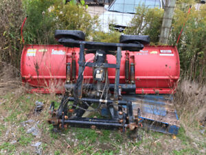 Snow plow:   Western 7.5ft Unimount commercial grade snow plow.