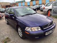 VOLVO S40 DIESEL MANUAL SALOON 2002
