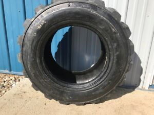 STEINBAUER CHIP,NEW OIL AND AIR FILTERS ,SKID STEER TIRES