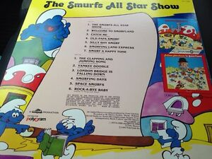 1981 excellent condition smurf LP Gatineau Ottawa / Gatineau Area image 2
