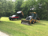 Backhoe & Dump Truck for Hire... with operator