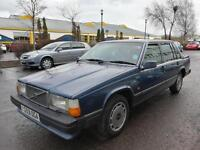 Part Exchange To Clear : Volvo 740 1 Year Mot Low Mileage Full Leather Automatic