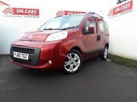 2011 60 FIAT QUBO 1.3 16V MULTIJET DIESEL DYNAMIC.FULL SH.£30 ROAD TAX.FULL MOT.
