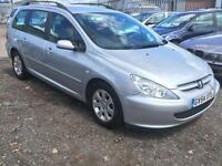 2004/54 Peugeot 307 2.0HDi 90 a/c S LONG MOT EXCELLENT RUNNER