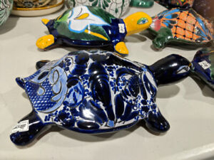 Talavera turtles imported from Mexico