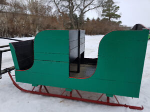 Horse Drawn Cutter. Horse Sleigh for 1 or 2 Horses