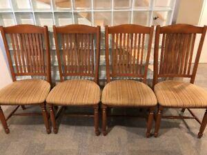 Chaises pour table de cuisine