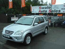 2005 HONDA CR-V EXECUTIVE 2.2 i-CTDi 4x4 FULL SERVICE HISTORY
