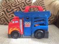 Mega blocks Lorry/slide.