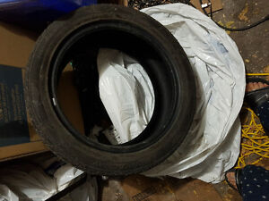 4 good condition summer tires 245/45r18