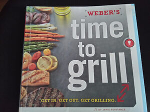 weber's time to grill hard cover cookbook brand new