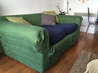 Comfortable sofa with new covers