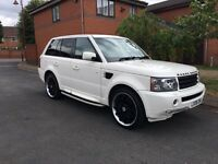 Range Rover sports 3.6 v8 in off white 89000 original colour PX welcome