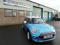 2015 MINI Hatch COOPER 1.5D 116 CHILI PACK Diesel blue Manual
